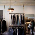 regal sklepowy do sklepu odzieżowego SQUARE 10